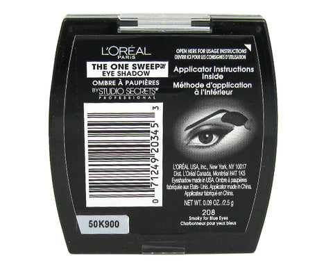 L'Oreal Studio Secrets The One Sweep Eye Shadow