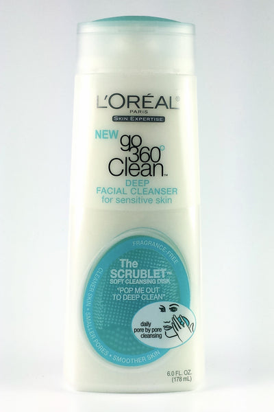 L'Oréal Go 360 Clean Deep Facial Cleanser for Sensitive Skin
