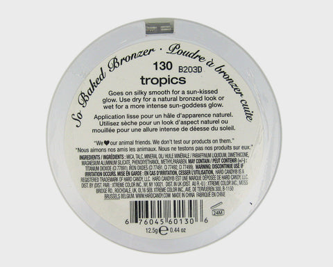 Hard Candy So Baked Bronzer -130 tropics