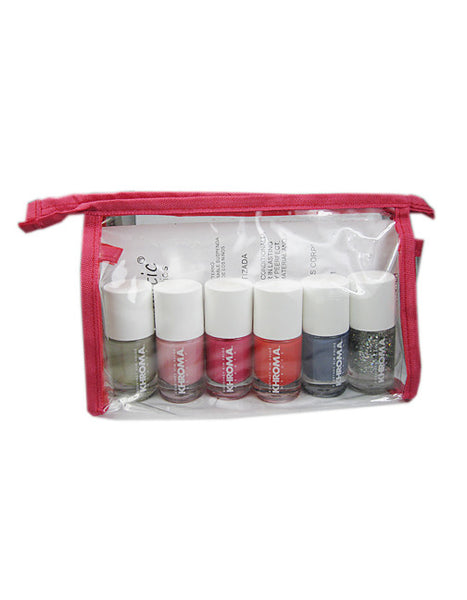 Kardashian Nail Polish 6 Pack with Nail Accessories Gift Set