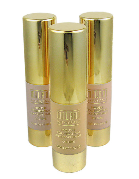 Milani Minerals Mousse Foundation