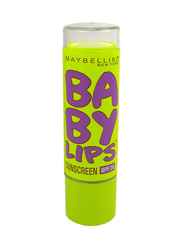 Maybelline Baby Lips Lip Balm Peppermint  Bundle