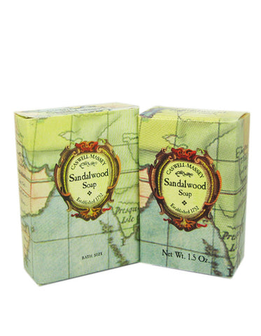 Caswell-Massey Sandalwood Soap 6-Pack