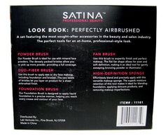 SATINA LOOK BOOK: Perfectly Airbrushed