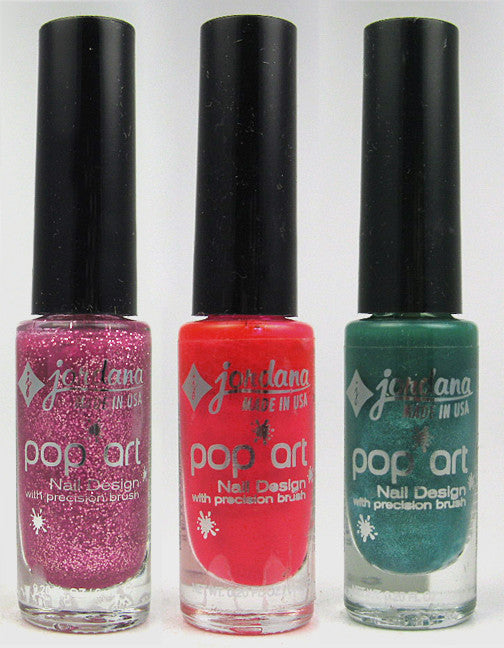 Street Fair Cosmetics — Jordana Pop Art Nail Polish