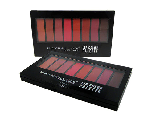 Maybelline Lip Color Palette 01