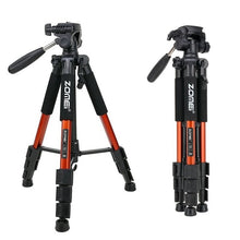 Load image into Gallery viewer, New Zomei Tripod Z666 Professional Portable Travel Aluminium Camera Tripod Accessories Stand with Pan Head for Canon Dslr Camera