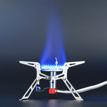 Load image into Gallery viewer, Portable Mini Foldable Stainless Steel Gas Stove Camping Equipment