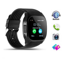 Load image into Gallery viewer, T8 Bluetooth Smart Watch With Camera Facebook Whatsapp Support SIM TFcard Call Sprot Smart Watch Remote Wristwatch For Android