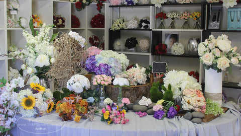 About us australias leading custom artificial flowers silk flowers we are located on the new south wales south coast near jervis bay and have a usually next day ordinary postal delivery to sydney for stock goods mightylinksfo