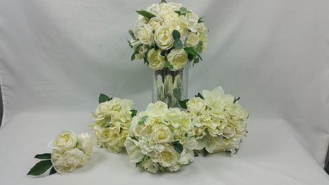 Wedding bouquet set   5429