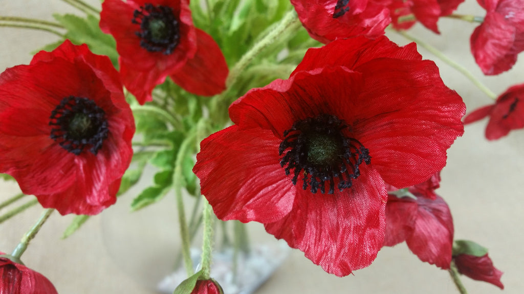 Poppy remembrance red 5429
