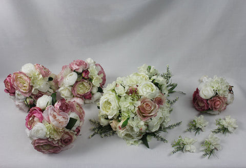 Peony Rose Bridal Package