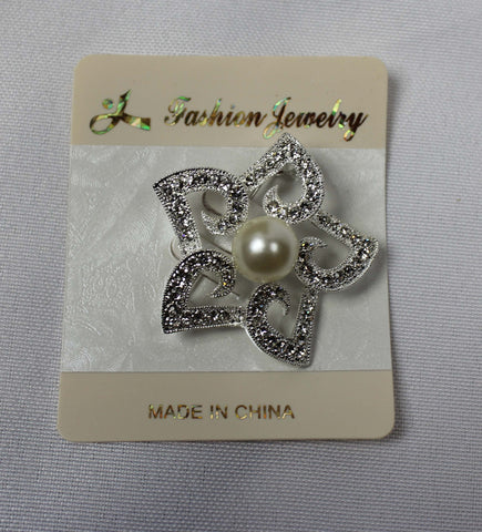 Diamonte Star Brooch