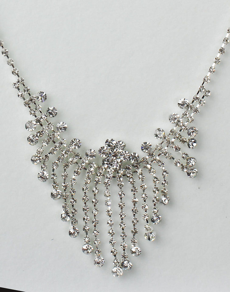 Waterfall Diamonte Necklace