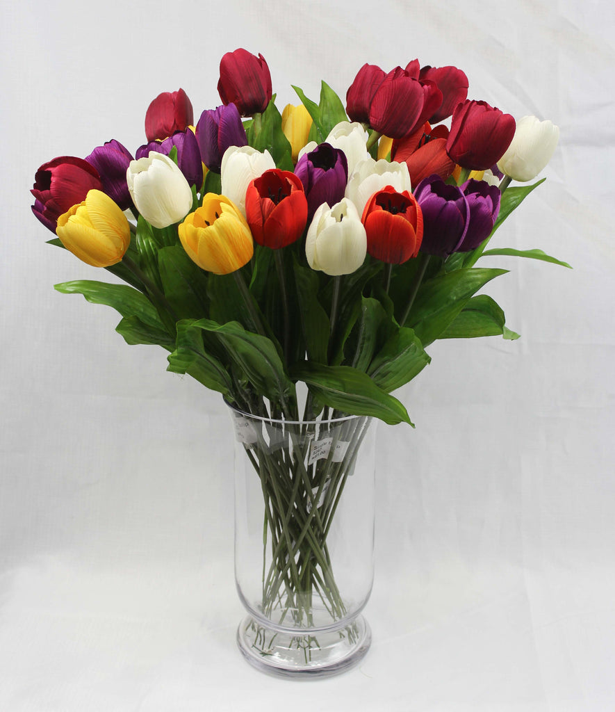 Single Tulip Silk Flowers