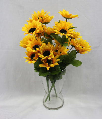 Small Sunflower Cluster