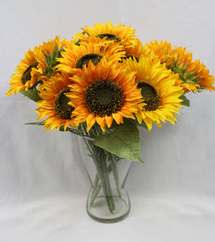 Large Sunflower Cluster