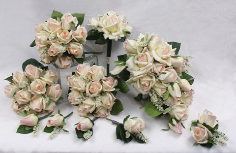 Blush Rose Bridal Package