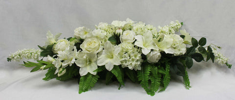 Peaceful Elegance Casket Arrangement