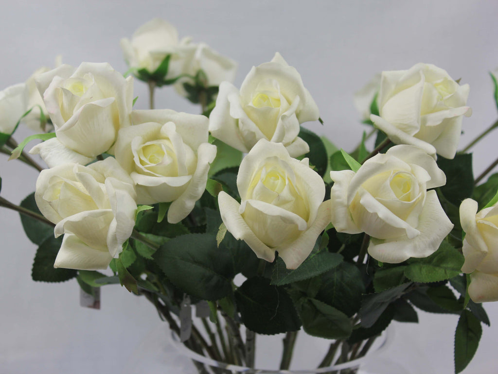 Real-touch Single Stem Rose Bud 4100