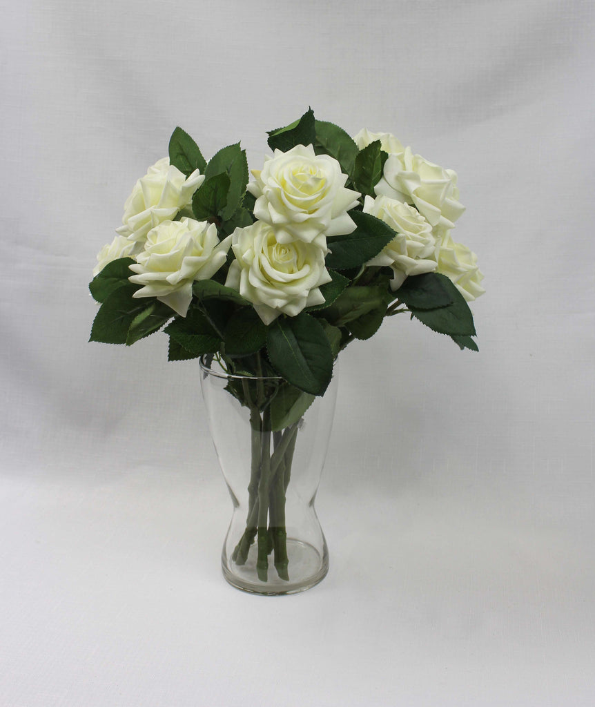 Twin rose white #5324