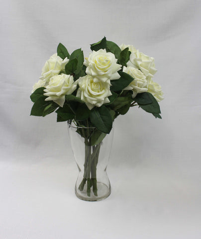 Twin Rose White