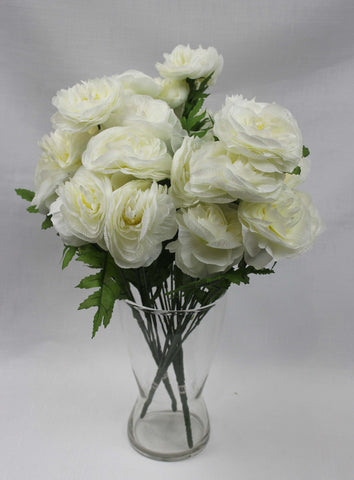 White Peony Cluster