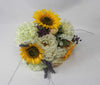 Spring bouquet with Sunflowers  1063