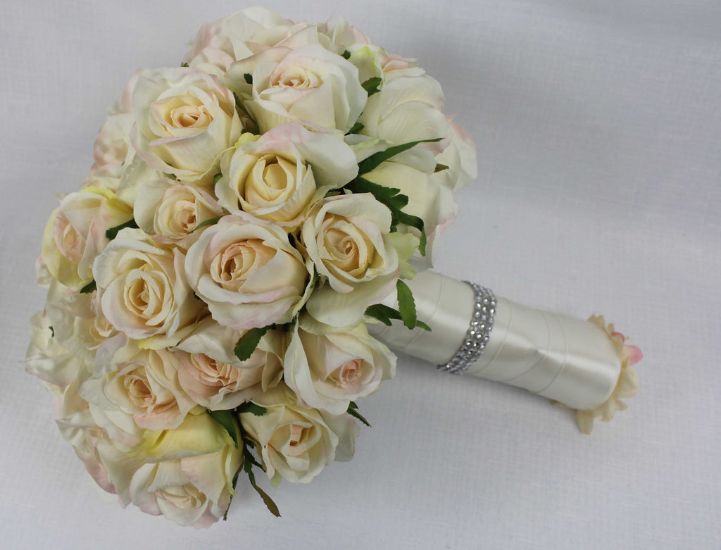 Large Blush Rose Bouquet 5242
