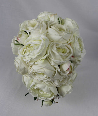 Ivory Tear Drop Bouquet
