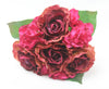 Burgundy and Fushia Mixed Posy 5334
