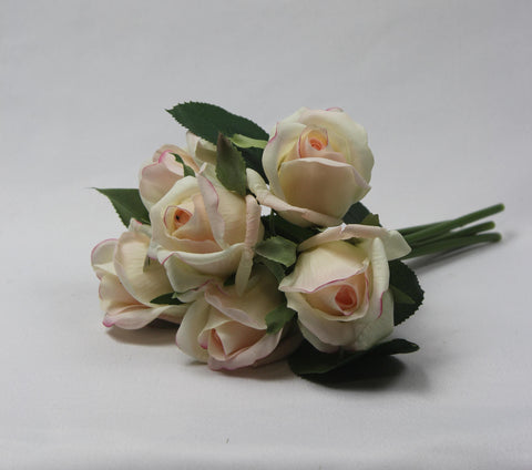 Opening Real-touch Rose Bud Posy