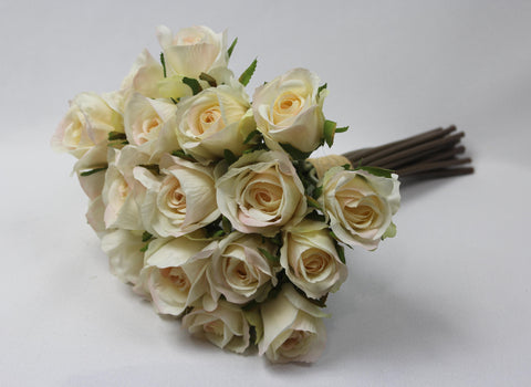Cream to Blush Rose Posy