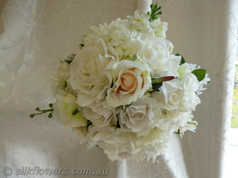 Beautiful Ivory Bridal Bouquet