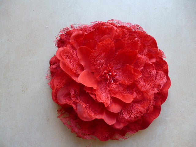 Flower Lace Clara Red