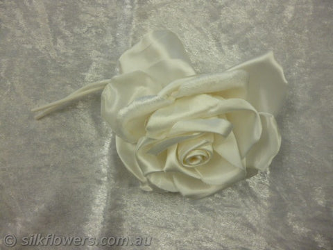 Rose satin white 12cm 1936