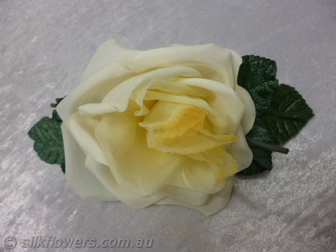 Vintage Lemon Rose