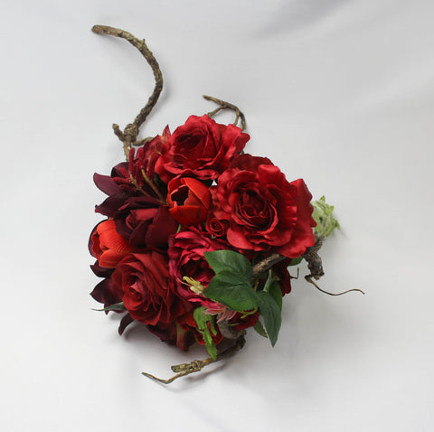 Blood Red Bouquet
