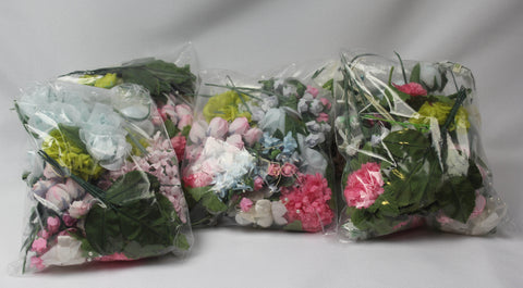 Bargain Bag - Small Craft Flowers