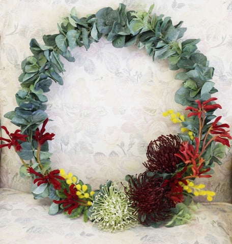 Sweet Home Wreath