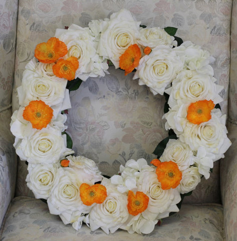 Peaceful Rest Wreath