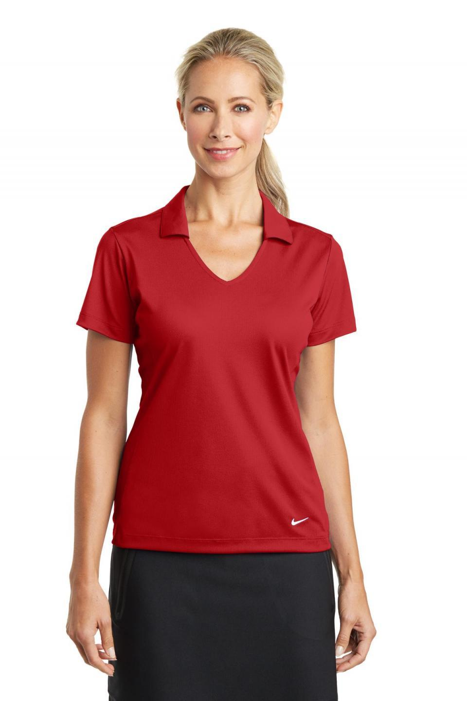 Nike Woman's Dri-FIT Vertical Mesh Polo