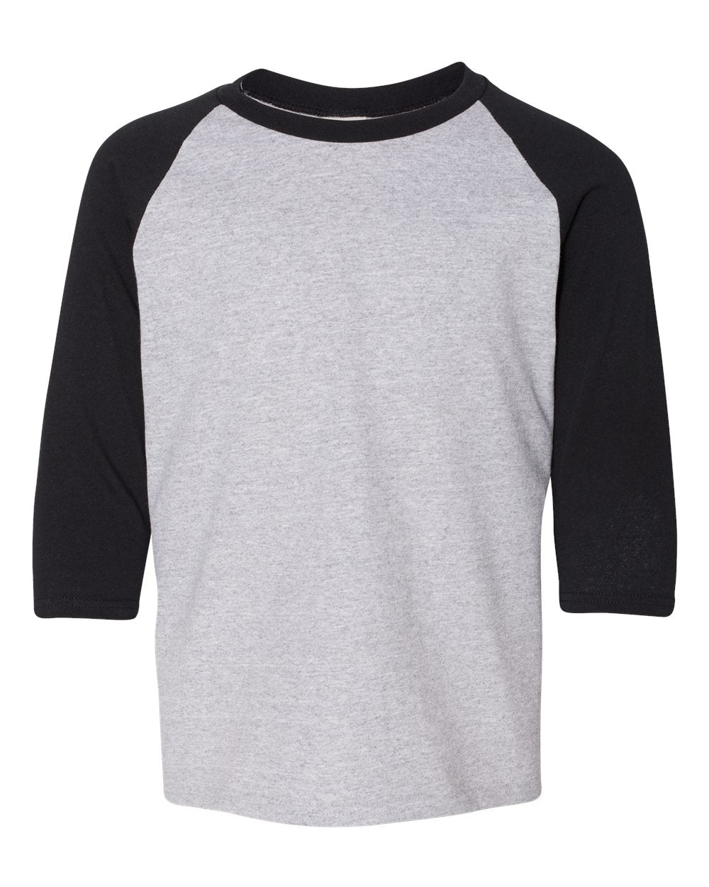 Youth Heavy Cotton™ 5.3 oz. 3/4-Raglan Sleeve T-Shirt