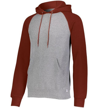 Russell Athletic Men's Dri-Power  Fleece Colorblock Hoodie