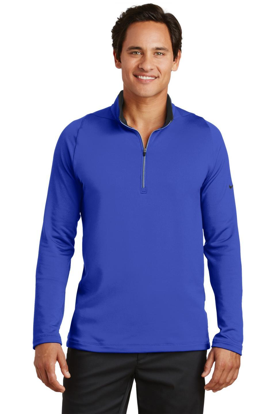 Nike Men's Dri-FIT Stretch 1/2-Zip Cover-Up