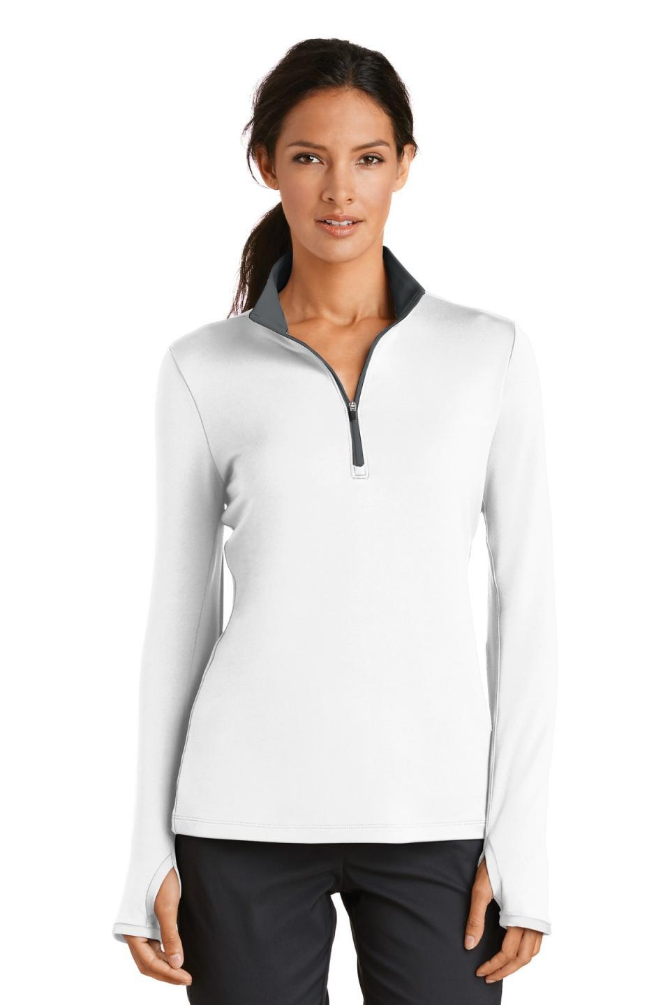 Nike Women's Dri-FIT Stretch 1/2-Zip Cover-Up