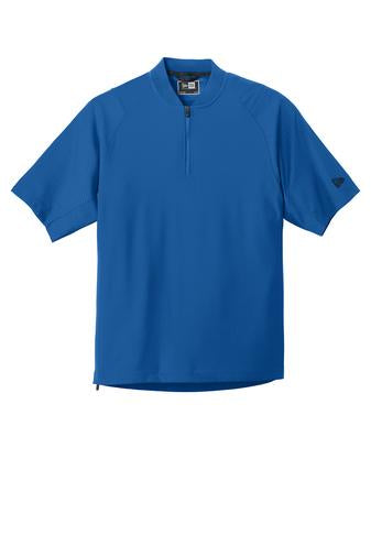 New Era Men's Cage Short Sleeve 1/4-Zip Jacket