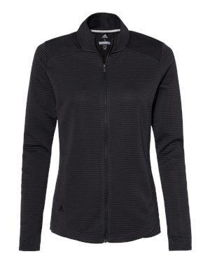 Adidas Women'sTextured Full-Zip Jacket