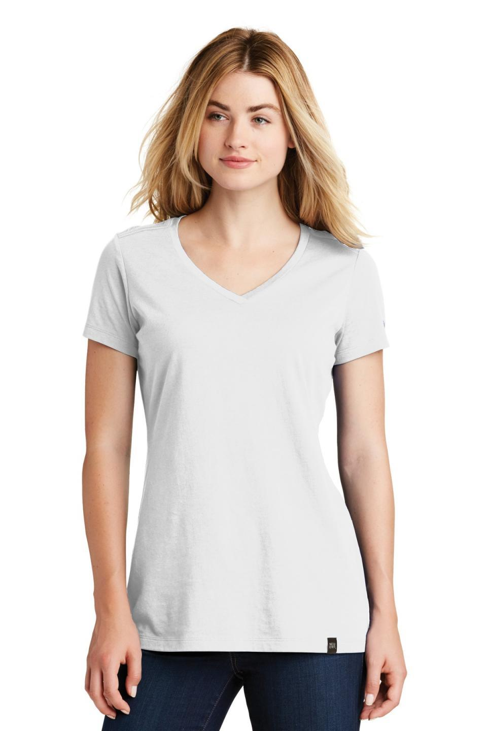 New Era Women's Heritage Blend V-Neck Tee